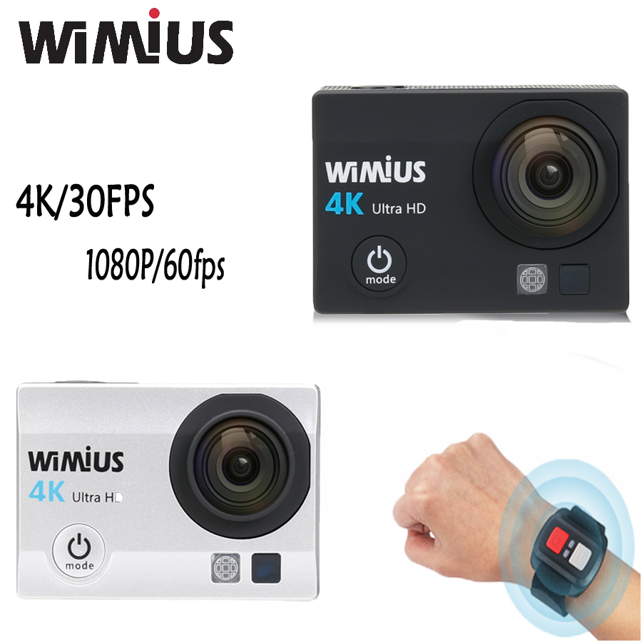 Wimius Q3 Action Camera 4K wifi HD 16MP Sport Mini Video Car Camcorder Go Waterproof 40M pro + 2.4G Wireless Remote Controller(China (Mainland))