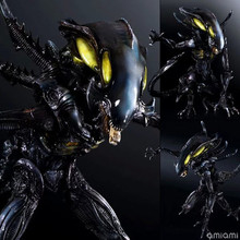 Alien Warrior Action Figure Playarts Kai Collection Model Anime Toy Movie Play Arts 270mm free shipping