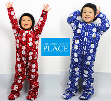 free shipping Kids sleepwear fleece romper children coverall underwear autumn winter for 4-8 years Children bag feet jumpsuit
