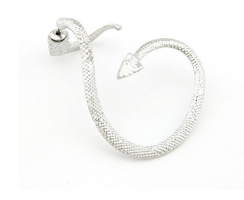 E100-1 Hot 2015 New Cool Earrings Ear Wrap Cuff Clip earring For Girls Jewelry(China (Mainland))
