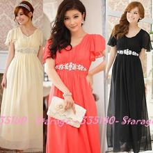chiffon gowns promotion