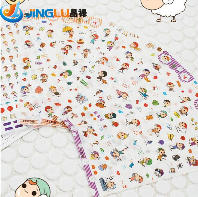 1 Pc / Pack Cute Claw Cap Girl Diary Deco Kawaii Planner Sticker/note Sticker/message Sticker/wholesale 6 Into<br><br>Aliexpress