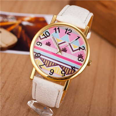 Geneva Casual Women Quartz Watch Fashion Candy Color Lady Wristwatch Relojes Analog Leather Clock - Dream More Store store