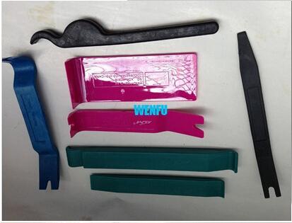 free shiiping klom brand plastic material big bump tools.large pry bar 7pcs(China (Mainland))