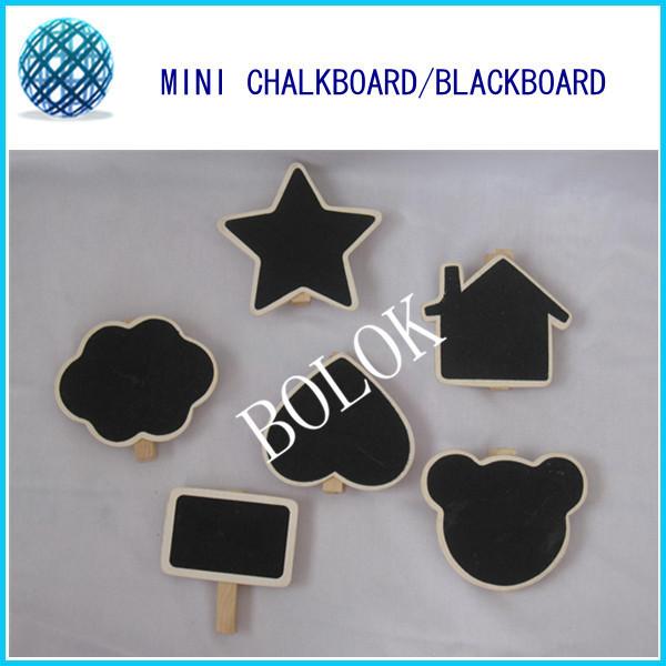 500pcs/lot Mini Blackboard Chalkboard with clip,Wooden Blackboard Chalk Board Peg, DIY chalkboard<br><br>Aliexpress
