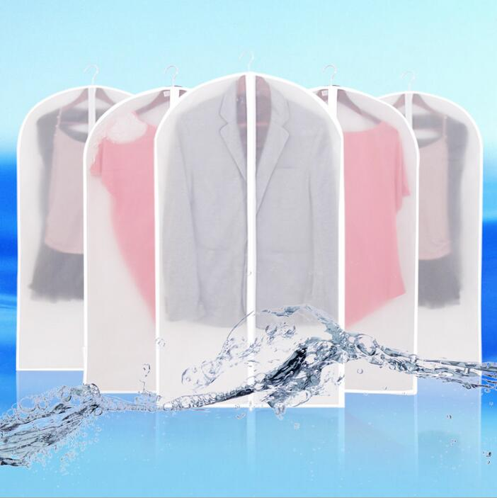 Clear Pvc Suit Cover clothing storage bag PVC Gusseted Suit Garment Bag With Zipper Child Garment(China (Mainland))