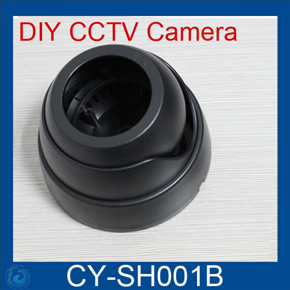 Гаджет  Free Shipping CCD Dome CCTV Camera Round Plastic Housing Cover Case None Безопасность и защита