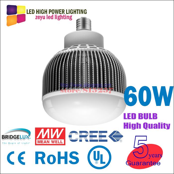ZY-G200-60W e40 led bulbs 60w 6000lm led lamp 110v lamps e27 light lighting guarantee 5 years led bulb E27 led 50W 60W bulb(China (Mainland))