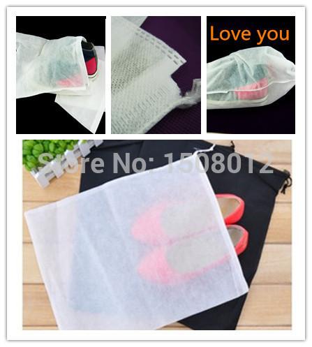 2015 Bolsas De Marca Boot Vacuum Bag Fashion Receive Storage Bag Non-woven Shoes Draw String Dust Beam Shoe To Trave 36X26cm(China (Mainland))