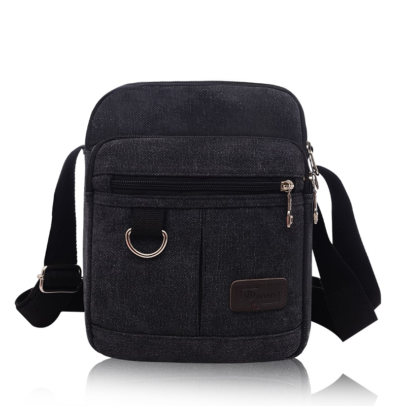 New Multifunction Men Quality Canvas Bag Casual Travel Men's Cross Body Shoulder Bag Small Men Messenger Bags Flap Wholesale(China (Mainland))