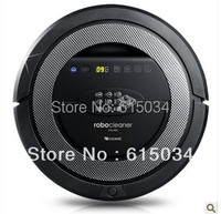 TOP-Grade 6in1 Multifunctional Robot vacuum cleaner QQ5,never touch charge base ,Sonic wall,auto-checking of problem,