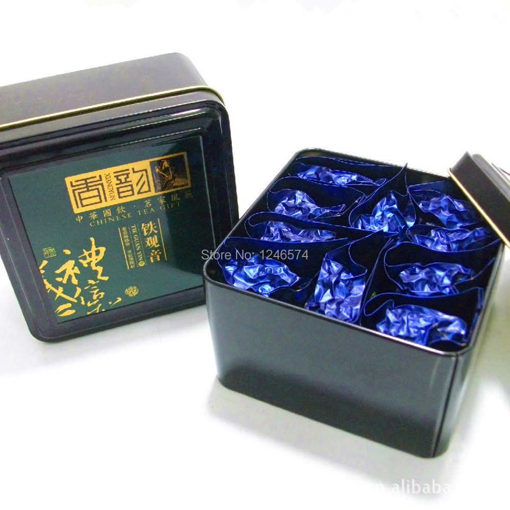 Promotion!!!80g China anxi tieguanyin oolong tea tie guan yin luzhou-flavor tieguanyin tea premium with  gift 10pcs/ box