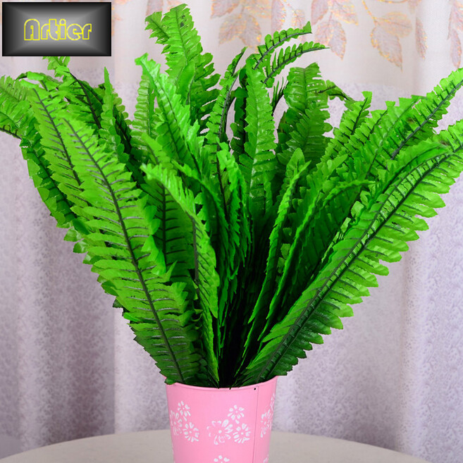 Simulation Home Furnishing Decoration Persian Fern Green Leaf Simulation Technology AD1606(China (Mainland))