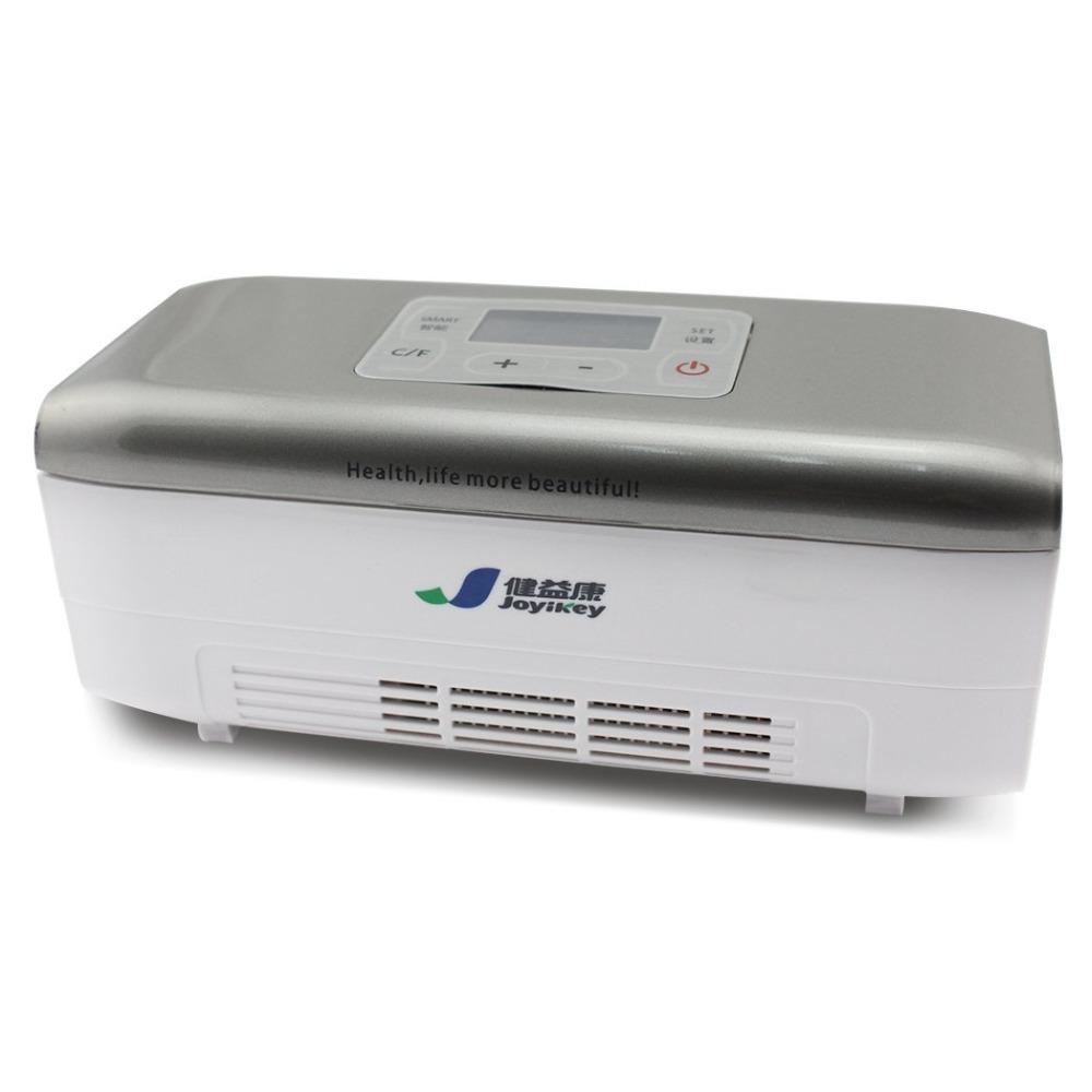 12v Car Medicine Drug Insulin IFN Storage Refrigerator Travel Cooler Box Set with Battey(China (Mainland))