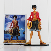 "Buy 7"" 18cm Japan Anime Monkey D Luffy One Piece Movable PVC Action Figure Collectible Dolls Toys for $15.73 in AliExpress store"