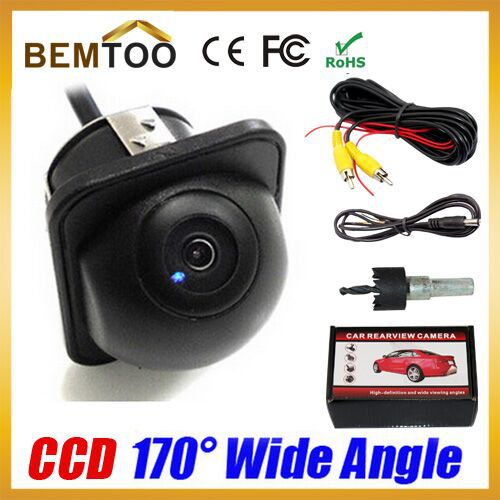 Wholesale170 Wide Angle HD Night Vision Car Rear View Camera Reverse Backup Color parking Camera,Free Shipping(China (Mainland))