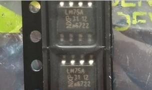 LM75A LM75AD hundred percent new and original SMD SOP-8 digital temperature sensor crown shop --XTW(China (Mainland))