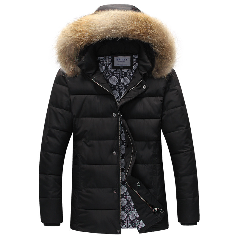 Popular Mens Puffer Jacket Fur Hood Men-Buy Cheap Mens Puffer