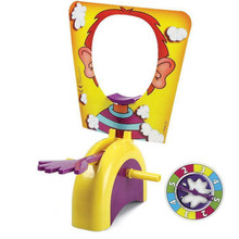 Pie Face Cream Pie Machine Tricky Toys Pie Face Family Funny Environmental Party Game Kids Toys Without Original Box(China (Mainland))
