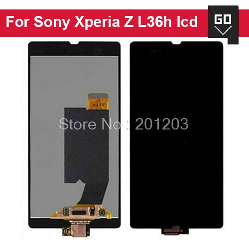 For Sony for Xperia Z L36 L36H L36i LT36 LCD Screen Display and Touch Screen Digitizer Assembly Free Shipping