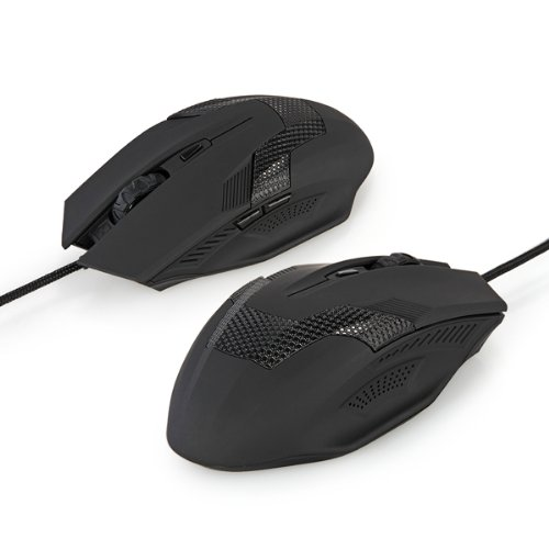 CAA-Hot 2000DPI Wired Optical Ergonomic 6 Buttons Scroll Wheel Gaming Laptop Mouse Mice(China (Mainland))