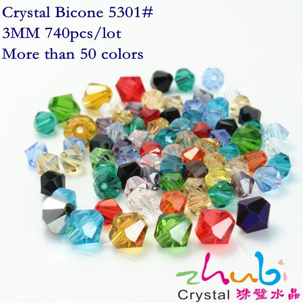 Crystal Bicone Beads Semi Precious (740pieces /lot)Miyuki Beads Imitate Natural Stones Beads Glass Loose for Diy Jewelry Crafts(China (Mainland))