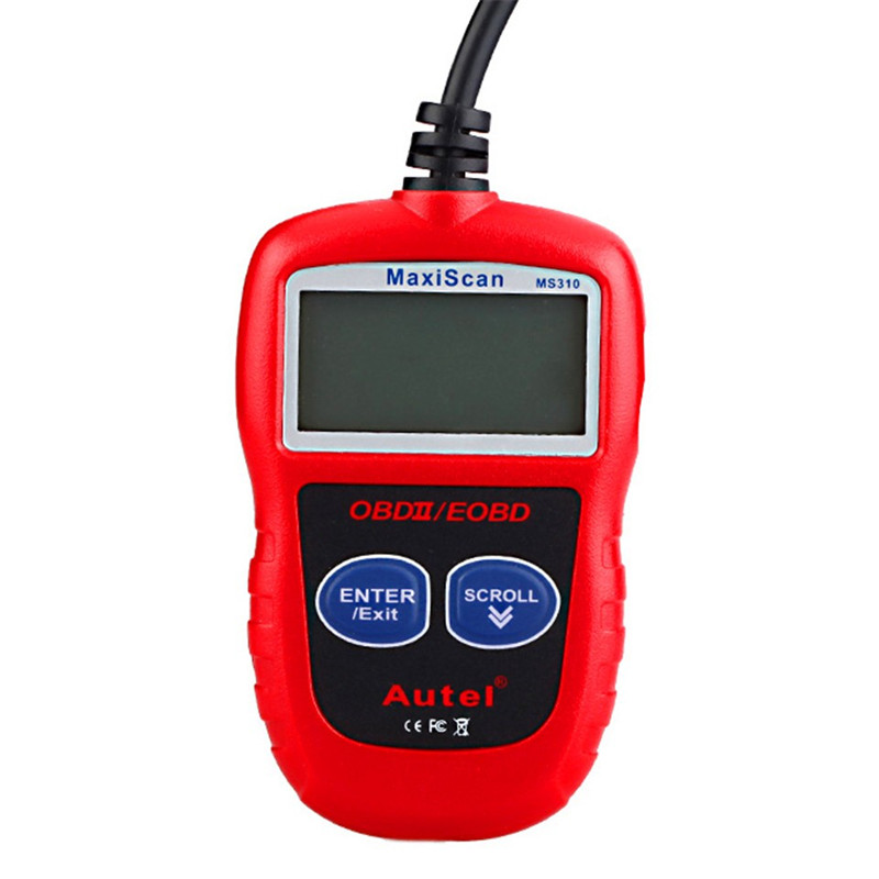 1Pcs Car Styling Car Code Reader Data Tester Scan Tool Auto RS310 OBDII/EOBD Scanner Car Diagnostic Tool(China (Mainland))