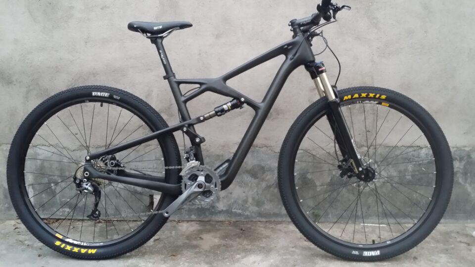 costelo 29er suspension bike ,bicicleta de doble suspension MTB bike suspension MTB frame 29er mountain bike complete bicycle(China (Mainland))