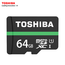 Buy Toshiba Memory Card 64GB Micro sd card Class10 UHS-1 Flash Cards Memory Card Microsd Tablet/Smartphone Official Verification for $27.31 in AliExpress store