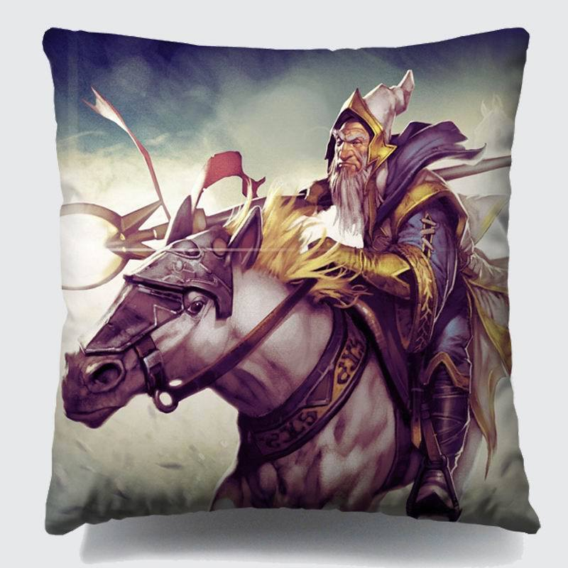 Dota 2 Game player creative Cushion Pillow cover car covers custom hot sale of DIY HD Digital printing used for car sofa home(China (Mainland))