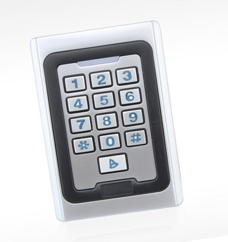 Здесь продается  Metal Case  Vandal-Proof  password Door access control System  EM125KHZ RFID DC-12V   Безопасность и защита