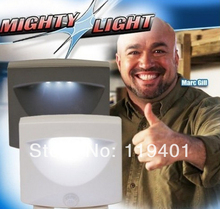 NEW !  Indoor & Outdoor Night Light / Motion & Light Sensor Activated With Retail Box(China (Mainland))
