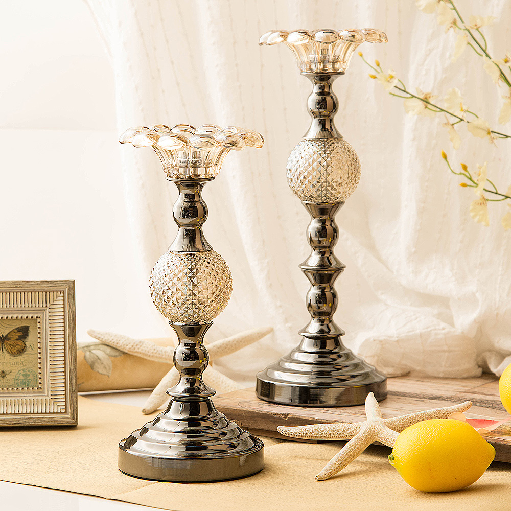 style retro Candle wedding props ornaments furniture decorative jewelry ornaments Home Furnishing candlelight dinner(China (Mainland))