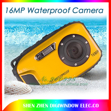 16MP Digital Camera Underwater 10m Waterproof Camera+ 8X Zoom +2.7inch LCD Cameras free shipping(China (Mainland))