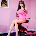 Rifrano 148cm Japanese lifelike sex doll Full Real Solid Silicone sex dolls Love Doll With Skeleton