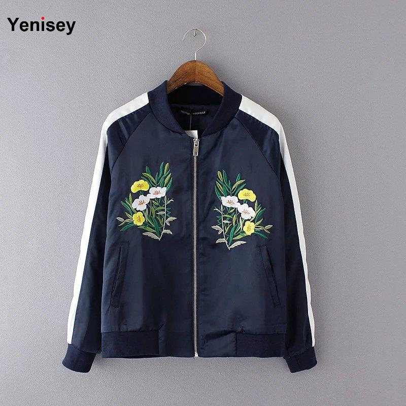 Women Jacket Coats Abrigos Mujer And The United Wind Of New Flower With Coat Of Baseball Jacket Flight 0326(China (Mainland))