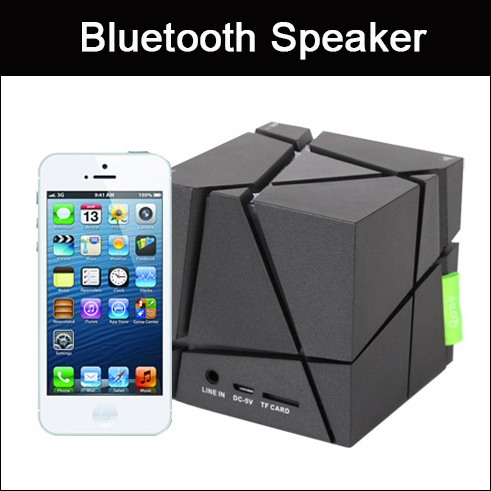 Cube Wireless Outdoor HIFI Portable Bluetooth Speaker Loudspeakers Mini Music Speakers Sound Box For Phone MP3 Computer(China (Mainland))