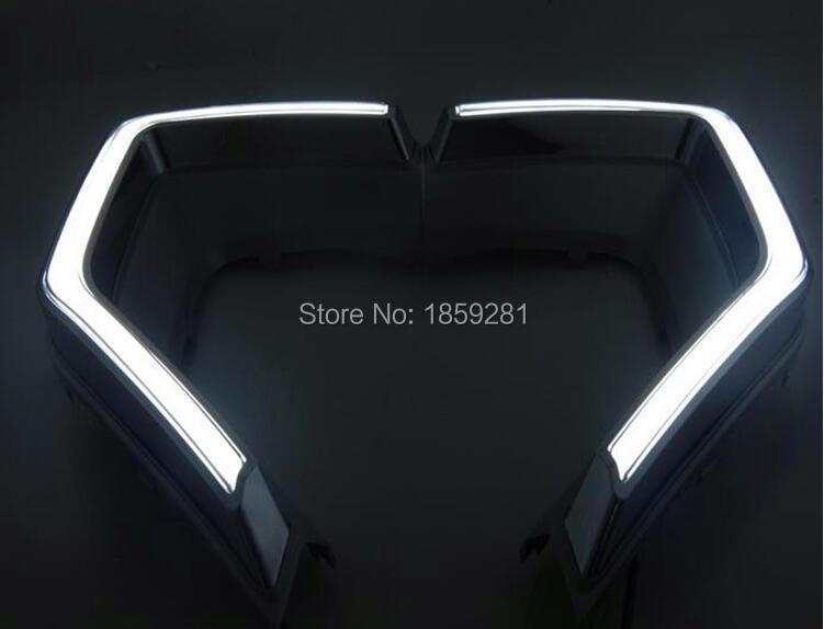 MG GS daytime light;2015~2017,Free ship!LED,Optional:Red/Silver,MG GS fog light,2pcs/set;MG GS