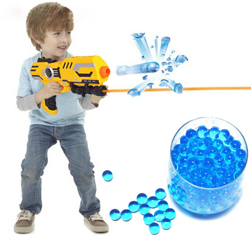 3000Pcs Soft Crystal Water Paintball Bullet Gun Toy Nerf Bibulous Water Gun Accessories(China (Mainland))