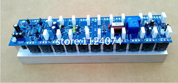 Cheapest Assembled 1200W high Powerful amplifier board DC 12-15V mono amplifier stage amplifer board Hifi audio amplifier(China (Mainland))