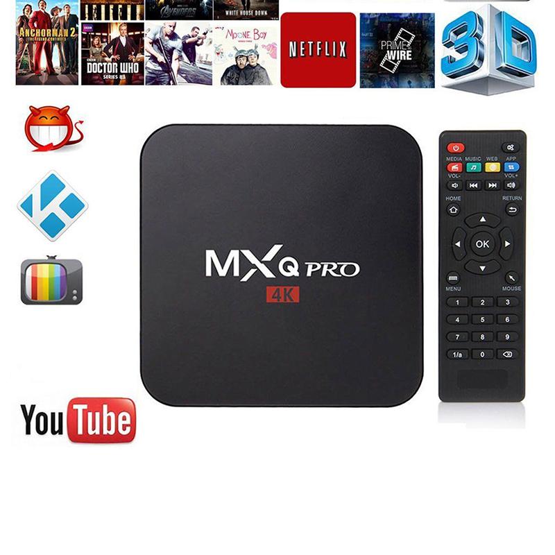LumiParty MXQ pro Amlogic S905X Android Smart TV Box 1GB 8GB HD 1080P 4k*2k Streaming Iptv Box Media Player Set-top box(China (Mainland))