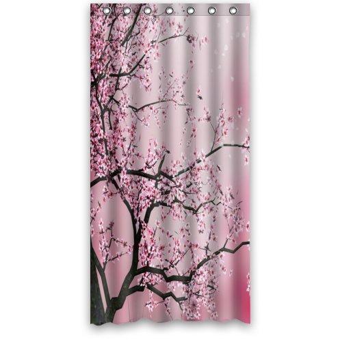 Cherry blossom curtain