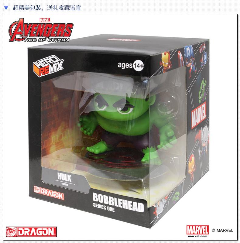 "Здесь можно купить  Dragon 5"" Bobblehead Series Hulk  Игрушки и Хобби"