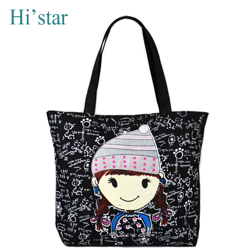 Sale New 2016 Fashion Dandelion Canvas Bag Women Handbag Shoulder Bags Women Messenger Bags(China (Mainland))