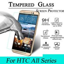 Ultrathin 9H 2.5D Premium Tempered Glass Film Screen Protector For HTC ONE M7 M8 M9 Desire 616 816 820 826 626 510 516 610 E8 E9