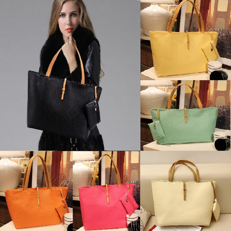 2015 New Desigh Women PU Leather Tote Shoulder Bags Hobo Handbags Satchel Top Quality Messenger bag Purse Free Shipping N751(China (Mainland))
