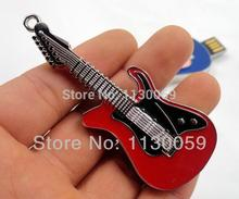 100% full capacity pendrive4GB 8GB 16GB 32GB usb flash drive disk usb flash memory stick lovely guitar pen drive(China (Mainland))