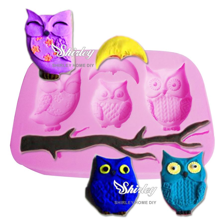 Owl Cake Mold