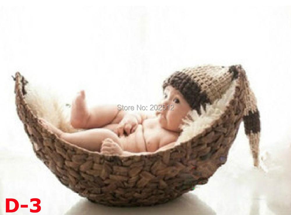 Корзинки для фотосессии новорожденных своими руками