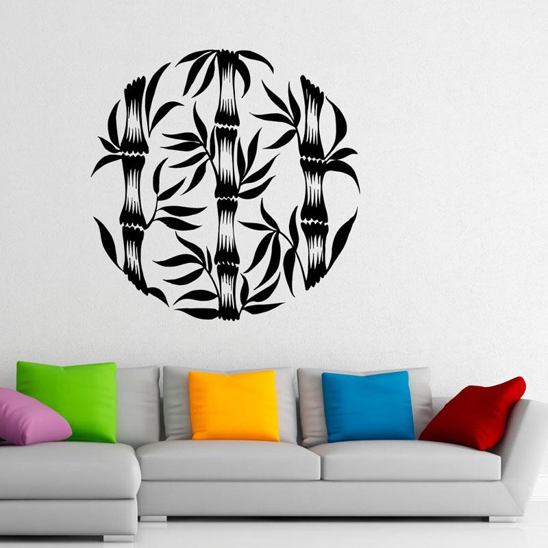 Dise o de la pared de bamb compra lotes baratos de for Murales pared baratos